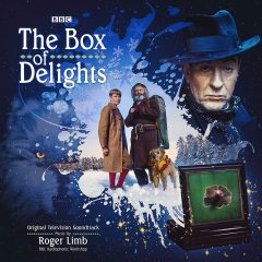 The Box of Delights soundtrack CD (front cover artwork)