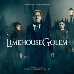 Cover artwork for the limited edition Limehouse Golem soundtrack CD