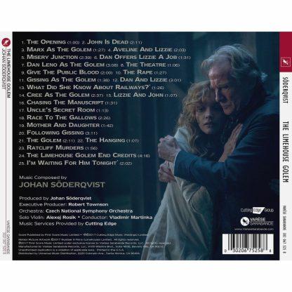 Track listing for the Limehouse Golum soundtrack CD album
