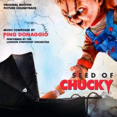 Cover artwork for the Seed of Chucky soundtrack album by Pino Donaggio