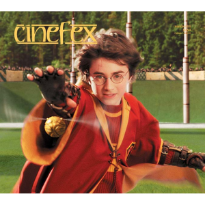 The front cover of issue #88 of Cinefex (January, 2002)