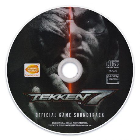 Tekken 7 Official Game Soundtrack CD [disc] M01228