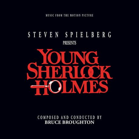 Young Sherlock Holmes (and the Pyramid of Fear) Soundtrack (3xCD) ISC 429 [alt cover]