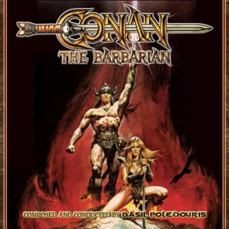 Conan the Barbarian Soundtrack Cover (3x CD edition)