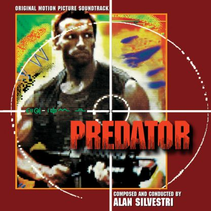 Predator Soundtrack CD (cover artwork)