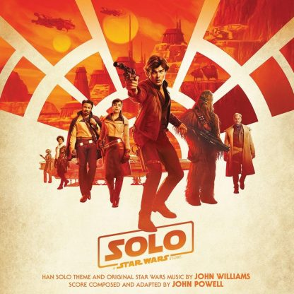 Solo: A Star Wars Story Soundtrack (cover artwork)