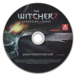 The Witcher 2 - Assassins of Kings Soundtrack cover artwork
