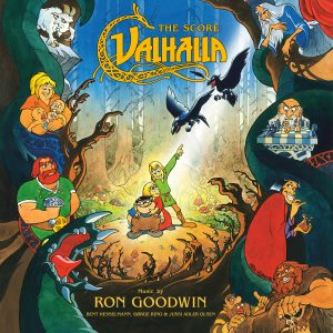 Valhalla soundtrack CD cover artwork