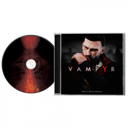 The Vampyr Original Soundtrack CD disc and case