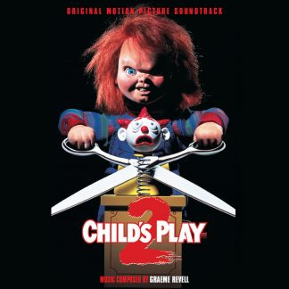 Child's Play 2 Soundtrack (Score) CD front cover artwork