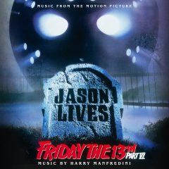 Friday the 13th Part VI: Jason Lives Soundtrack (CD) [cover art]