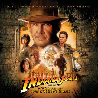 Indiana Jones and the Kingdom of the Crystal Skull Soundtrack (CD) (cover artwork)