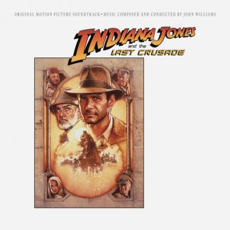 Indiana Jones and the Last Crusade Soundtrack (CD) - front cover artwork
