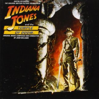 Indiana Jones and the Temple of Doom Soundtrack (cover artwork)