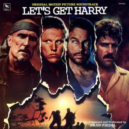 Let's Get Harry Soundtrack (CD) - cover artwork