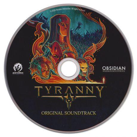 Tyranny Original Soundtrack (CD)
