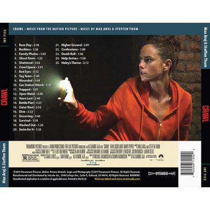 Crawl Soundtrack (CD) INT 7155 [back cover]