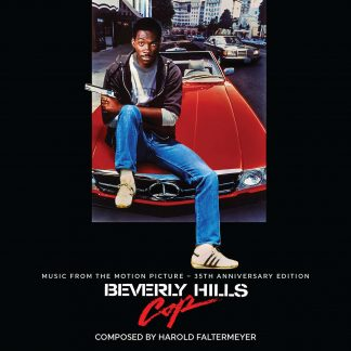 Beverly Hills Cop 35th Anniversary Soundtrack (CD) LLLCD1519 cover artwork