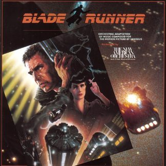 Blade Runner Soundtrack (Orchestral Adaptation) [CD] 075992374828 (cover artwork)
