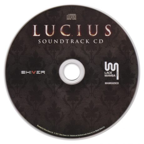 Lucius Soundtrack CD MAMG029CD