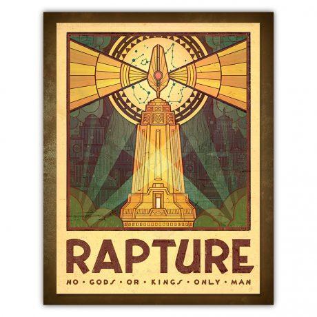 Rapture Tourism Poster (BioShock)