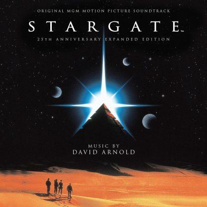 Stargate 25th Anniversary Soundtrack Score (2xCD) [cover artwork]