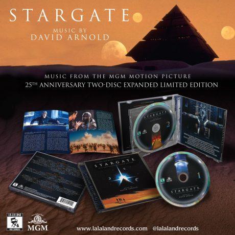 Stargate 25th Anniversary Soundtrack Score (2xCD) [presentation]