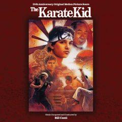 The Karate Kid 35th Anniversary Soundtrack Score (CD) [cover art]