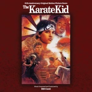 The Karate Kid 35th Anniversary Soundtrack Score (CD) [cover art]