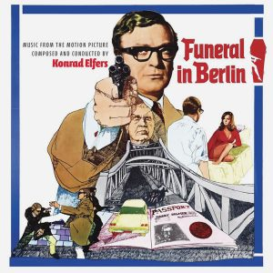 Funeral in Berlin Soundtrack (CD) (cover artwork)