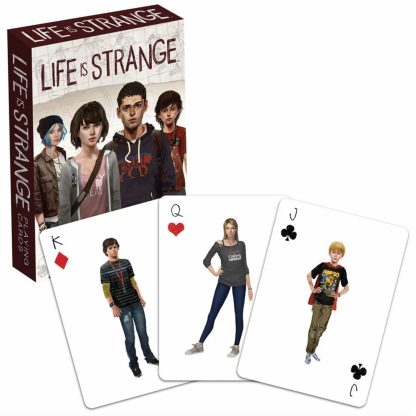 Life is Strange Playing Cards (presentation shot)