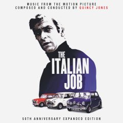 The Italian Job 50th Anniversary Soundtrack (CD) [cover artwork]