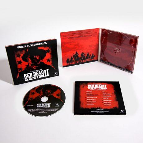 The Music of Red Dead Redemption 2 Original Soundtrack (CD) [presentation]
