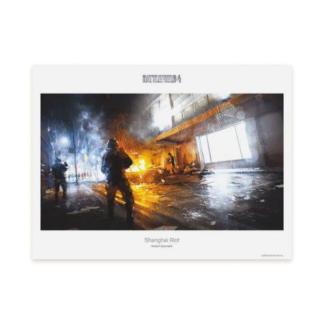 The Art Of Battlefield 4 (Art Print)