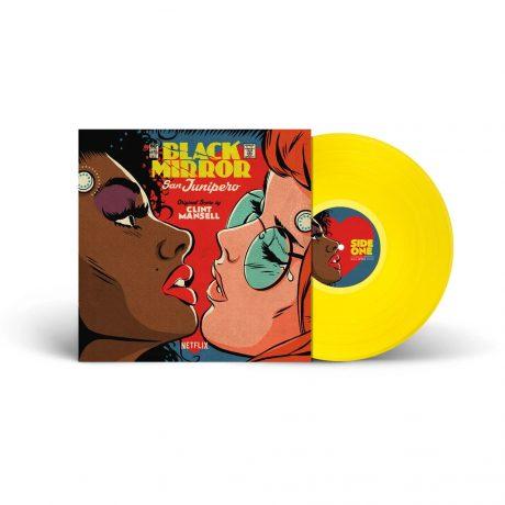 Black Mirror – San Junipero Soundtrack [LP (Yellow Variant)] (presentation)