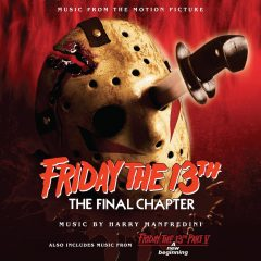 Friday 13th The Final Chapter Soundtrack (CD) [cover art]
