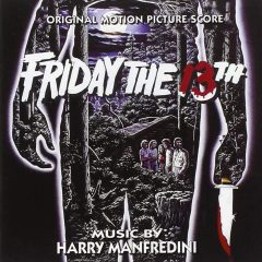 Friday the 13th Soundtrack (CD) [cover art]