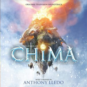 Legends of Chima Volume 2 Soundtrack (CD) [cover art]
