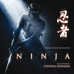 Ninja Soundtrack CD (Stephen Edwards) [cover art]