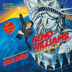 Remo Williams - The Adventure Begins 35th Anniversary Soundtrack (CD) [cover art]