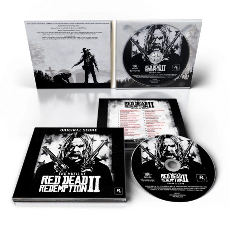 The Music of Red Dead Redemption II: Original Score Soundtrack CD [presentation]