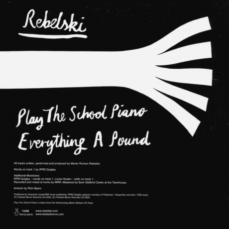 Play The School Piano (Rebelski) [Vinyl]