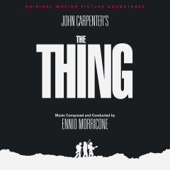 John Carpenter's The Thing Soundtrack (CD) [Remastered Edition] (cover artwork)