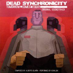 Dead Synchronicity Soundtrack (CD) [slipcase album cover artwork]
