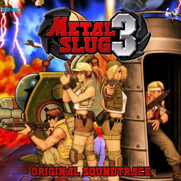 Metal Slug 3 Original Soundtrack (CD) WAYO-16 (album cover artwork)