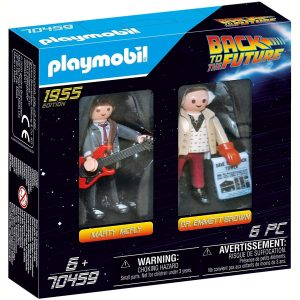 PLAYMOBIL 70459 Back to the Future Marty McFly and Dr. Emmett Brown
