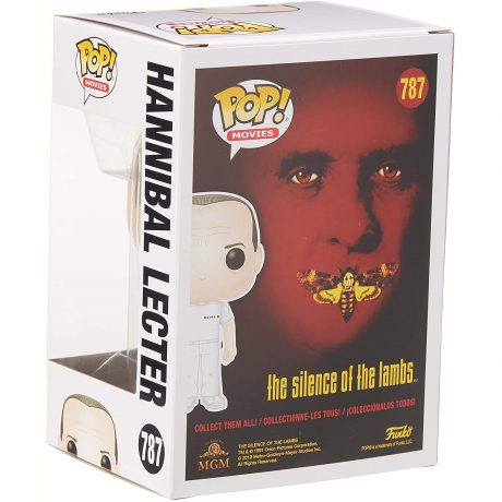 Pop! Movies #787 Hannibal Lecter (The Silence of the Lambs) [back]