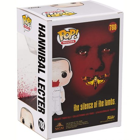 Pop! Movies #788 Hannibal Lecter [Bloody] (The Silence of the Lambs) [back]