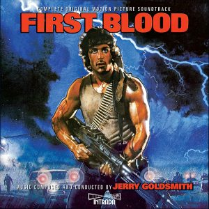 (Rambo) First Blood Soundtrack (Jerry Goldsmith) [2xCD] MAF 7111 (front cover artwork)