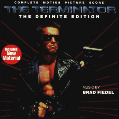 The Terminator - The Definitive Edition Soundtrack (CD) [album cover art]